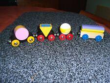 Wooden Brio Trains