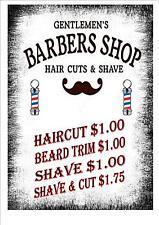 American Vintage Style Barber Shop Sign Barber Retro Style Sign Kitchen Sign