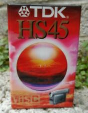 TDK HS45 - camcorder tape - single VHS C PAL - sealed new condition