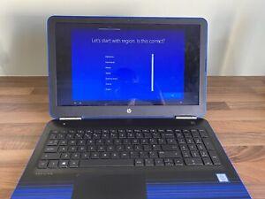 "HP Pavilion 15.6"" PC Laptop 1TB Blue 15-au071na W9V60EA Windows 10"