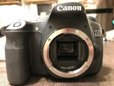 Canon EOS 60D 18.0MP Digital SLR Camera - Black (Body Only) with Camera Bag