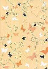 Artoz - Crea Motions- Designkarton-Falter - apricot-ca.200g/m²- 061