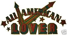 VINTAGE 70's ALL AMERICAN LOVER IRON ON TRANSFER