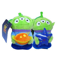 2x Disney Toy Story Alien Green Men Official Soft Plush Toy