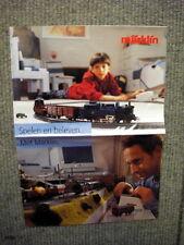 Original old catalogue of 90s Märklin - A3