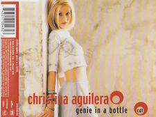 CHRISTINA AGUILERA GENIE IN A BOTTLE CD SINGLE 3 TRACKS
