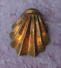 Alte kleine Kupfer Backform für Puppenküche um 1820
