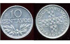 PORTUGAL  10  centavos 1976  ( bis )