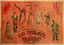 Marcel Carne Les enfants du paradis movie poster