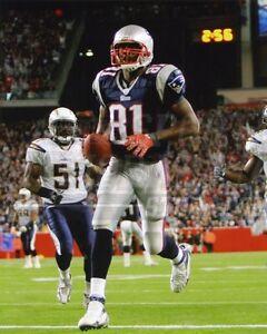 Randy Moss New England Patriots touchdown end zone 8x10 11x14 16x20 photo 550