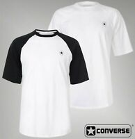 Mens Branded Converse Stylish Crew Neck Short Sleeve Raglan T Shirt Size S-XXL