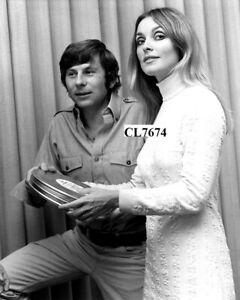 Sharon Tate with Roman Polanski Photo