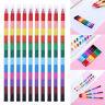 Mode Süß. Kinder Stift zeichnen Austausch von Stapeln 12 Buntstifte Öl Pastel