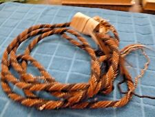 Antique Horse Hair Rope Provenance Buffalo Bill Triangle HC AZ Pioneers Assoc.