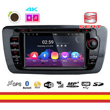 Autoradio Seat Ibiza 6J Android 8.1 Octacore Bluetooth USB MP3 WIFI Multitactil