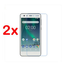 2x Curved 9H Film Tempered Glass Skin Screen Protector Cover Guard For Nokia 2