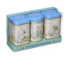 NEW ENGLISH TEAS PETER RABBIT MINI GIFT TIN SET