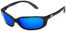 Costa Del Mar Brine Sunglasses BR-11-EBMGLP Black   Blue Mirror 580G Polarized