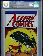 Action Comics #1 CGC 9.9 MT 35 Grams Silver Foil 2018 DC 1st Superman First Rel
