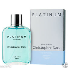 Christopher Dark Platinum Eau De Toilette Natural Spray for Men 100ml