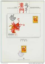 macau/1988 dragon-chinese new year- p.g.s./mnh.good codition