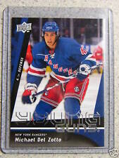 2009-10 UD Upper Deck Young Guns MICHAEL DEL ZOTTO #206