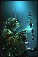 Yoda 4 - Chart Counted Cross Stitch Pattern Needlework Xstitch DIY Craft DMC
