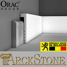 ARCKSTONE Cover Skirting boards Wall Furniture White Orac Decor Luxxus Axxent