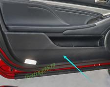 Carbon Fiber Door Anti Kick Pad Protective Trim For Lexus RC200T/300 2015-2019