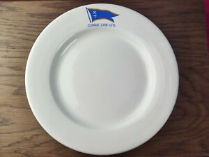 Vintage Currie Line Ltd Shipping Sailing Maritime Plate Dish - Maritime Interest