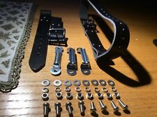 TRIUMPH TR2 TR3 TR3A  BOOT SPARE WHEEL AND TOOLS STRAP SET  PART NO MM802-845