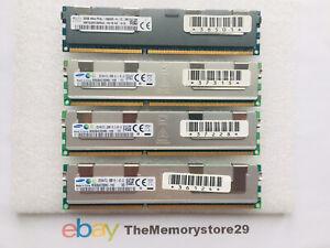 128GB 4 x 32GB Server Memory Registered DDR3 1333MHz  PC3L-10600 Registered DIMM