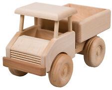 Lastwagen Truck LKW Laster Holzspielzeug Holzfahrzeug Holz - Auto L 21,5 cm