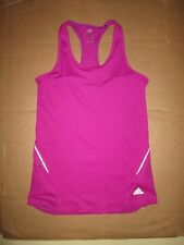 Womens ADIDAS athletic reflective tank top M md Med running gym