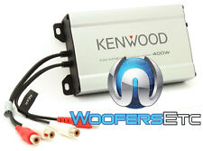 KENWOOD KAC-M1804 AMP 4 CHANNEL 400W MOTORCYCLE CAR BOAT MARINE SMALL AMPLIFIER