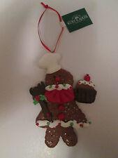 Christmas Ornament Gingerbread Girl Chef Cook Baker Holiday Cupcake Kurt S Adler
