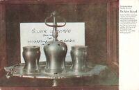 Postcard Silver Inkstand Pennsylvania