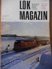 LOK Magazin 82 -Jan/Feb 1977 ** DB-Diesellok 221 Belgien T16 E2 Canadian Pacific