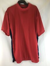 Game Gear Soccer Jersey Athletic Shirt Red Mens Large