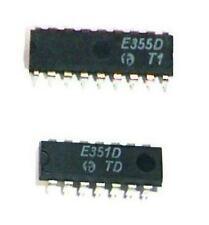 *Timer-Set 1 Stück E355D Zeitgeber IC + 1 Stück E351D Teilerschaltkreis in I²L*