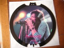 "aerosmith limited edition bat shaped 12"" vinyl picture disc made for japan"