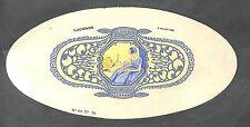 ART DECO PEINTURE AU POCHOIR ?? BOITE A DRAGEES BOISLIVEAU LA ROCHE-SUR-YON 1925
