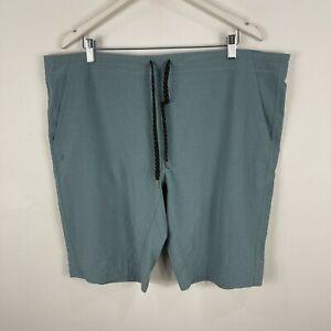 Manduka Mens Yoga Shorts XL Extra Large Drawstring Pockets
