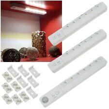 3er Set Led Unterbauleuchte mit Bewegungsmelder Batterie-betrieb Lampe für Küche