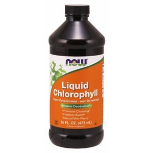 Now Foods Liquid Chlorophyll - 16 oz FRESH, FREE SHIPPING, MADE IN USA