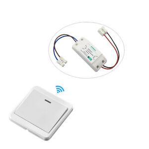 Wireless Light Switch Remote Control Wall Mounted Smart Home Gadget- KTNNKG