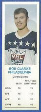 1970-71 Dad's Cookies - BOB CLARKE - Philadelphia  -  Rookie  (ex)