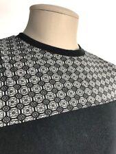 Forever 21 Men's Fashion T-Shirt Black Gray Short Sleeves Size XS