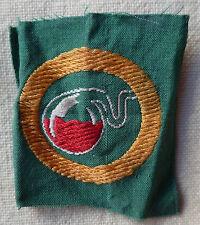 Insigne tissu BREVET SCOUT 1939/1940 France scouts  Scoutisme ORIGINAL patch 15