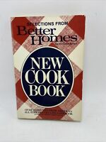 Better Homes & Gardens New Cook Book Paper Back 1983 USA Selections From VTG